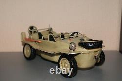 Vintage tin toy WWII car VW Schwimmwagen 1941-1944 Large 12 in