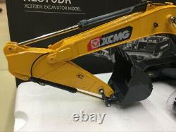 XCMG Models! XCMG XE370DK Excavator Metal Tracks Engineering Vehicle Model 130